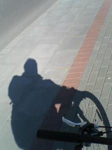 Kiti mato tik šešėlį.